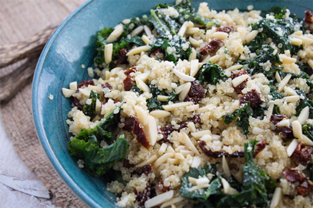 Kale and Quinoa Bowl