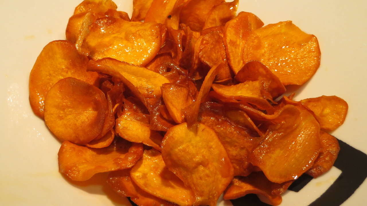 SWEET POTATO OVEN CHIPS