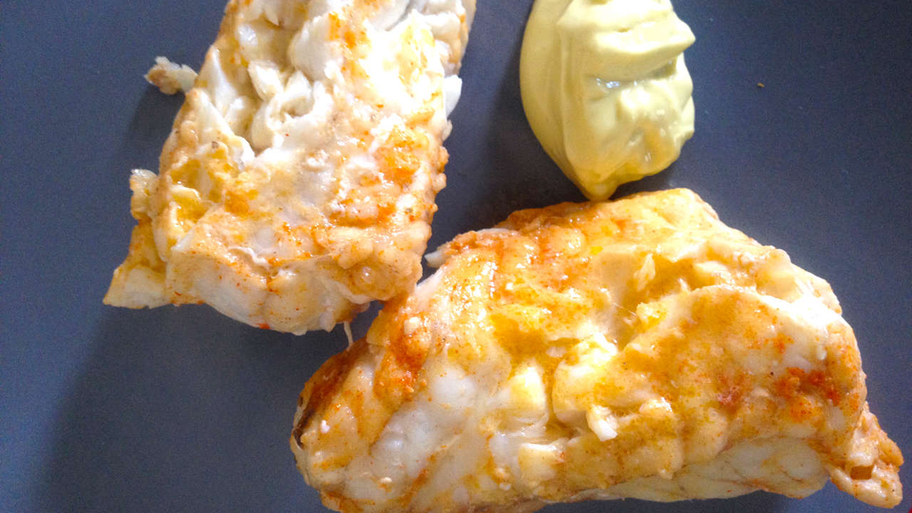Monkfish with Mayonnaise