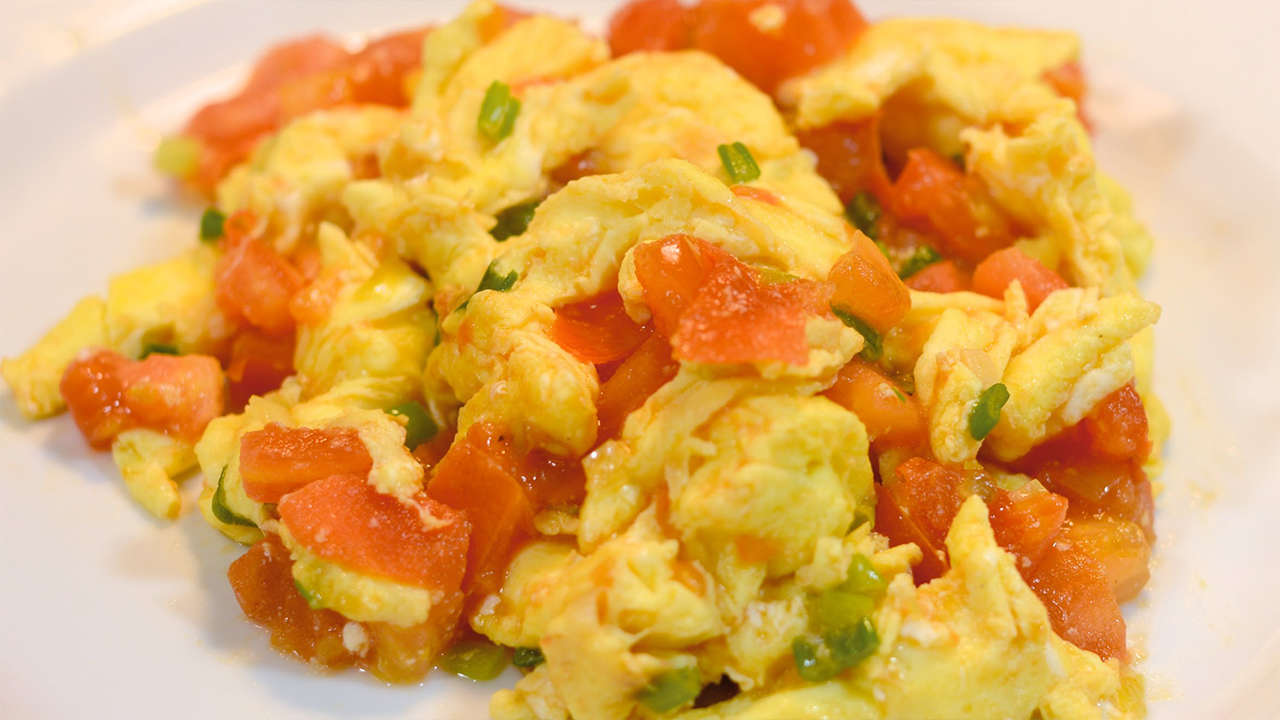 Tomato and Eggs stir Fry