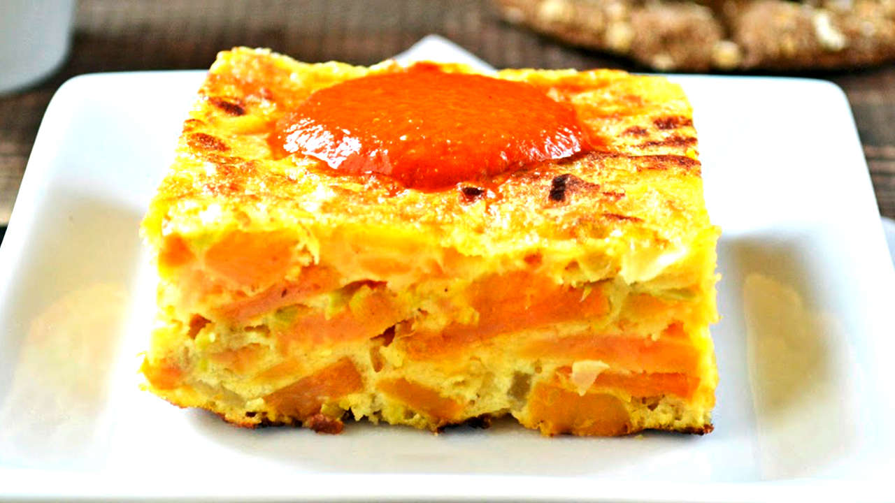 SWEET POTATO OMELETTE