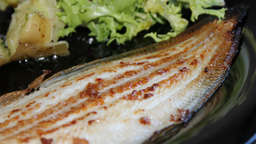 Grilled sole fillets