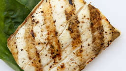 Halibut plancha